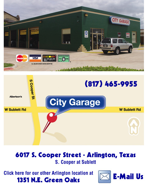 City Garage Coppell